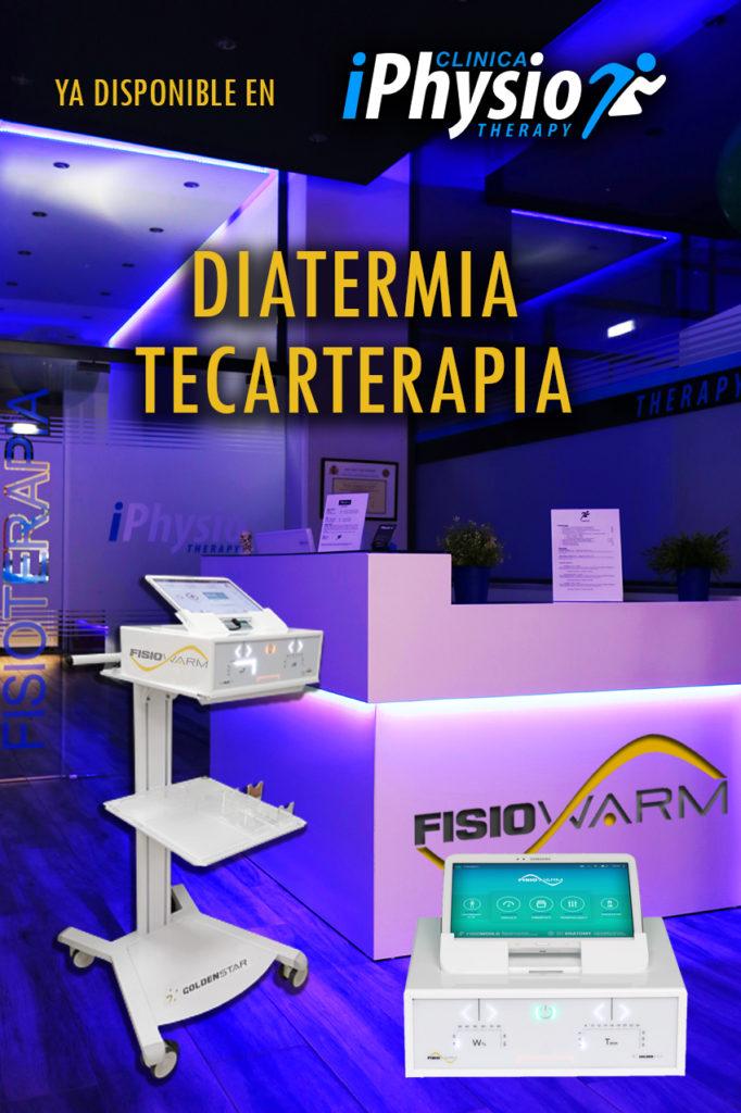 Diatermia o Tecarterapia iPhysio Talavera