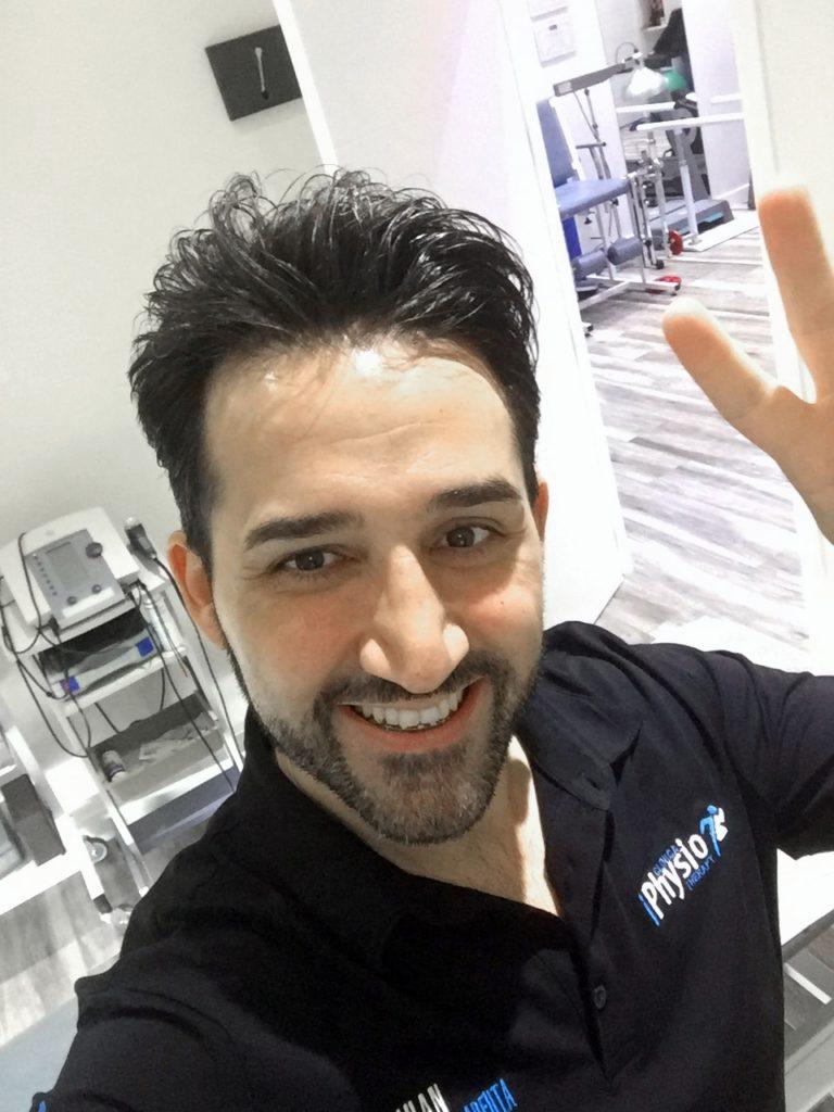 Juan Antonio MTB, fisioterapeuta