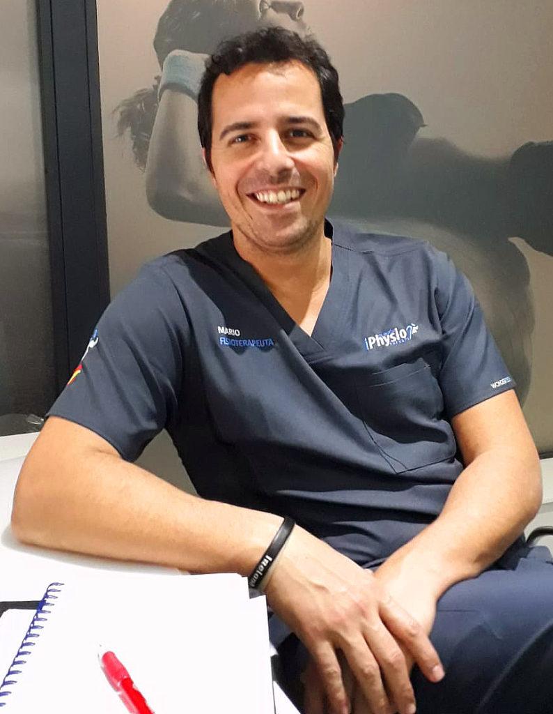 Mario Romero, fisioterapeuta
