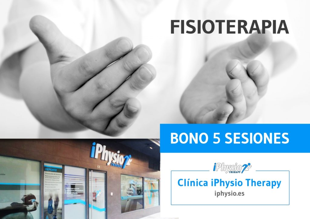 Bonos fisioterapia Talavera 5 sesiones