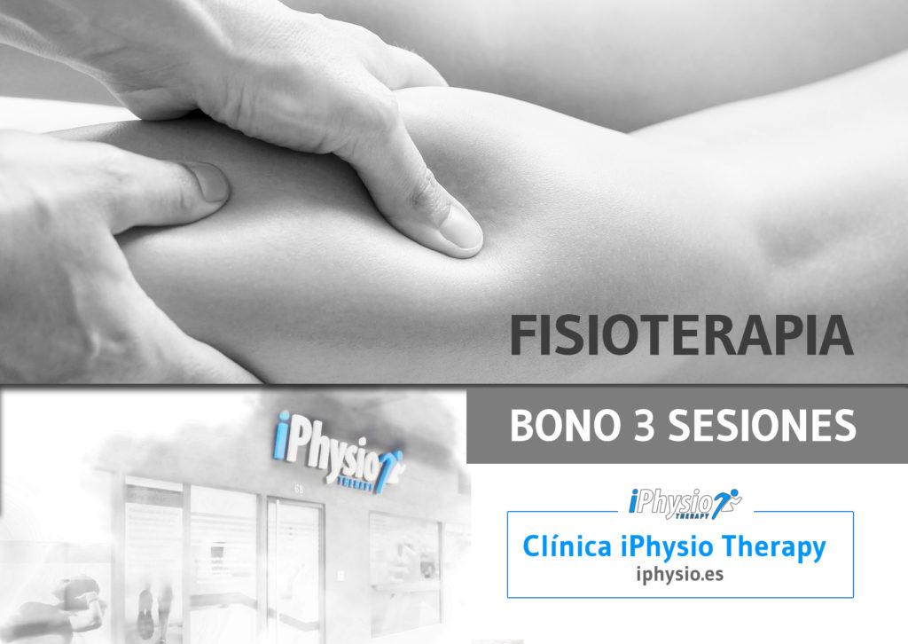 Bonos fisioterapia Talavera 3 sesiones