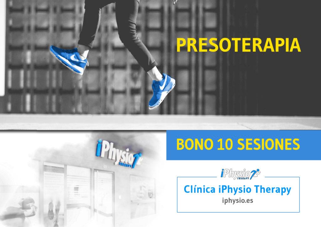 Bonos presoterapia Talavera 10 sesiones