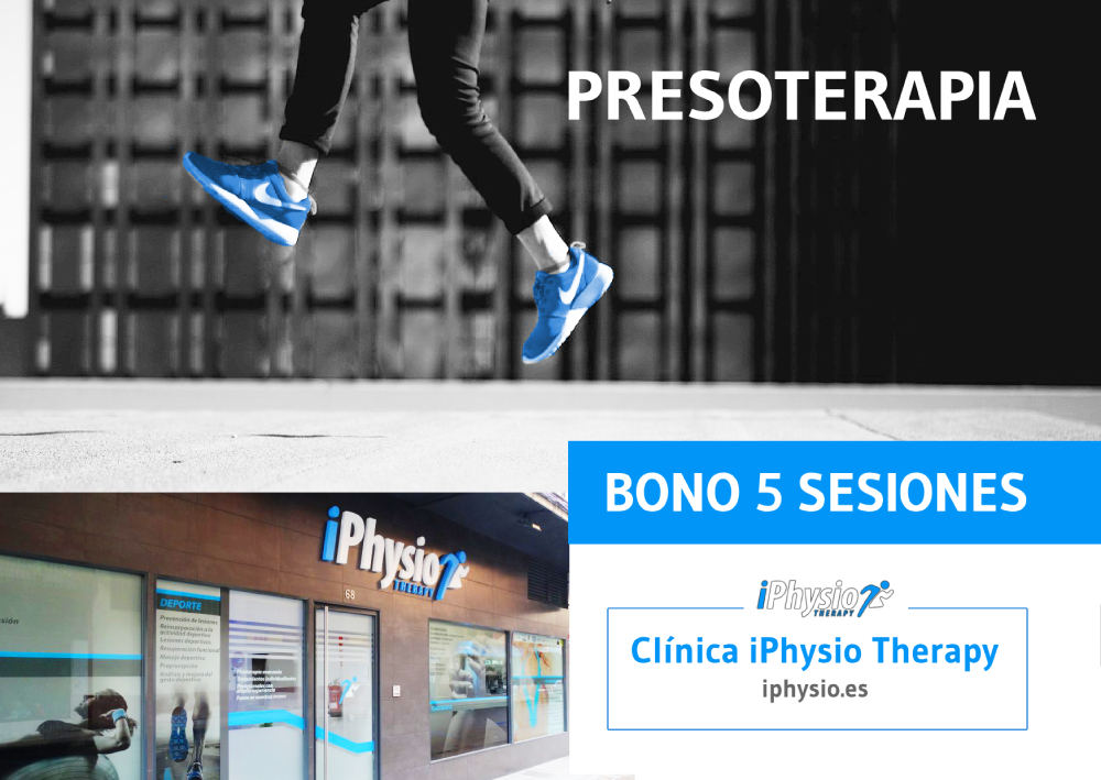 Bonos presoterapia Talavera 5 sesiones