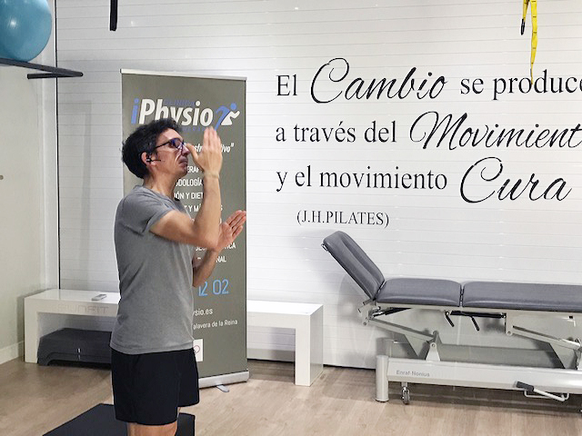 Pilates MAT on-line Pablo Luengo